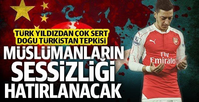 Yıldız futbolcu Mesut Özil'den, Doğu Türkistan'daki zulüme sert tepki –  Kadıköy Gazetesi