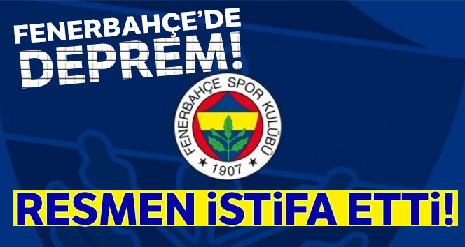 Fenerbahçe'de sportif direktör Damien Comolli, istifa etti!
