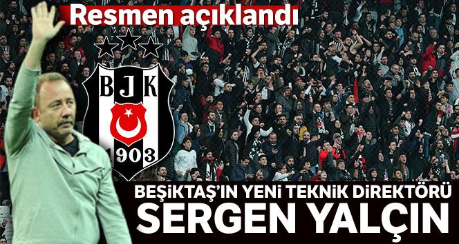 Beşiktaş'ın yeni teknik direktörü Sergen Yalçın