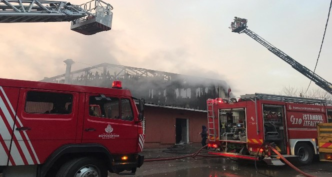 Metal Kaplama Fabrikasinda Cikan Yangin Korkuttu Kadikoy Gazetesi