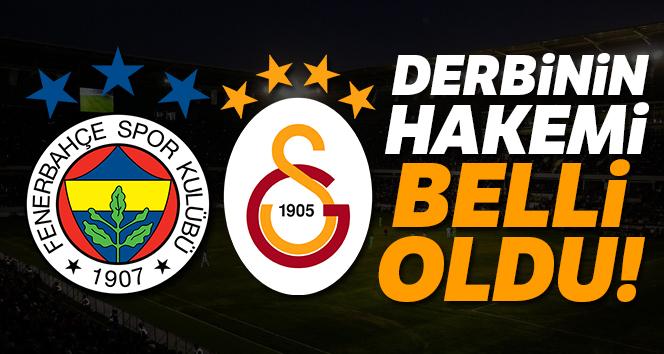 Fenerbahçe – Galatasaray derbisini Halil Umut Meler yönetecek