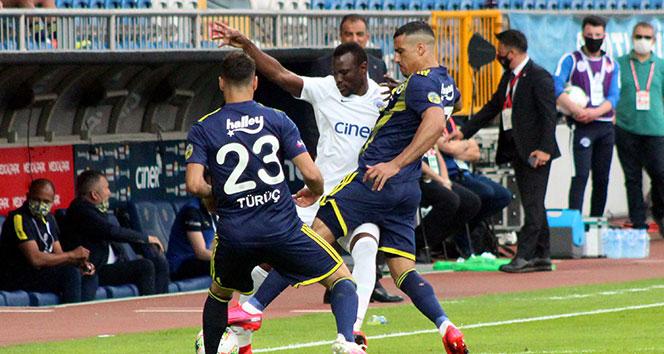 Süper Ligde Kasımpaşa Fenerbahçe'yi 2-0 yendi