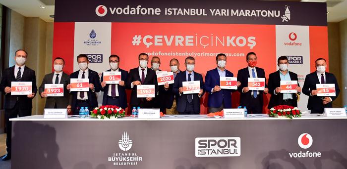VODAFONE 15. İSTANBUL YARI MARATONU İÇİN GERİ SAYIM BAŞLADI!