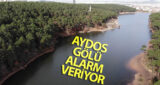 İSTANBUL AYDOS GÖLÜ ALARM VERİYOR (AYKUT ZOR/İSTANBUL-İHA)İstanbul'da barajlardaki doluluk oranı yüzde 20 seviyelerine  inerek son 10 yılın en düşük seviyesine ulaşırken, bu durumdan kentte bulunan göllerde nasibini aldı. Sancaktepede bulunan Aydos Gölünde sular gözle görülür bir şekilde azalırken, suları çekilen göl havadan görüntülendi.
