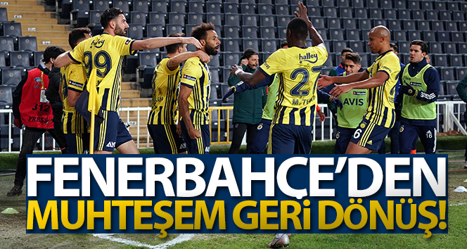 Fenerbahçe, Kadıköy'de Medipol Başakşehir'i 4- 1 farklı yendi