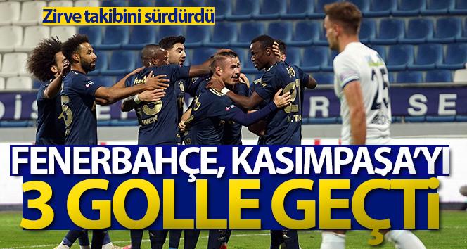 Fenerbahçe, Kasımpaşa'yı 3 golle geçti