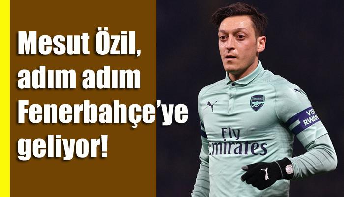 Mesut Özil, sponsor formülüyle adım adım Fenerbahçe'ye geliyor!
