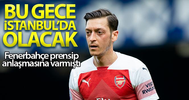 Arsena'li Yıldız Mesut Özil, Fenerbahçe'ye İmza Atmak için İstanbul'a geliyor