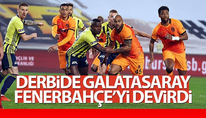 Kadıköy'de Mesut Özil'li Fenerbahçe, Galatasaray derbi maçında 1 – 0 yenildi