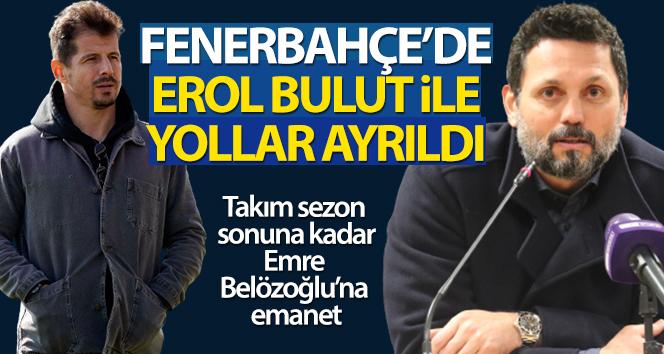 Fenerbahçe'de Teknik Direktör Erol Bulut ile yollar ayrıldı!