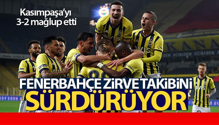 Sarı-lacivertliler Kasımpaşa'yı 3-2 mağlup etti