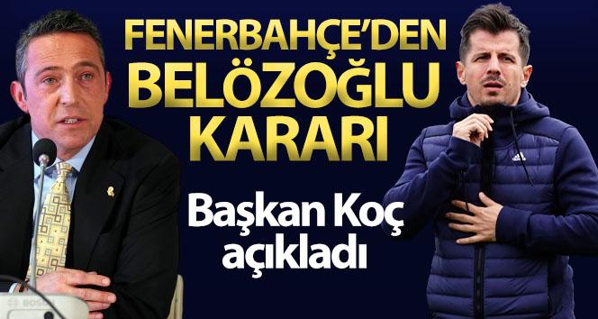Fenerbahçe, Emre Belözoğlu ile devam etmeyecek