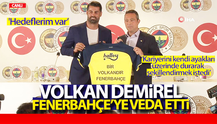 Milli kaleci Volkan Demirel, Fenerbahçe'deki görevinden ayrıldı