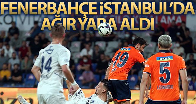 Süper Lig'de Fenerbahçe, Medipol Başakşehir'e 2-0 yenilerek ilk mağlubiyetini almış oldu