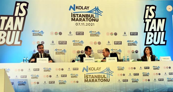 """Çintimar: """"N Kolay 43. İstanbul Maratonunun Pandemide de yapılabildiğini gösterdik"""""""