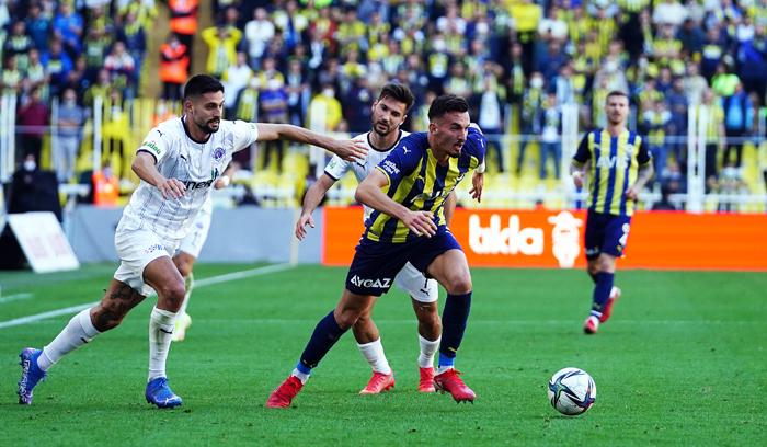 Fenerbahçe sahasında Kasımpaşa'yı 2-1 yendi